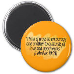 Hebrews 10:24 magnet