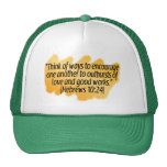 Hebrews 10:24 trucker hat