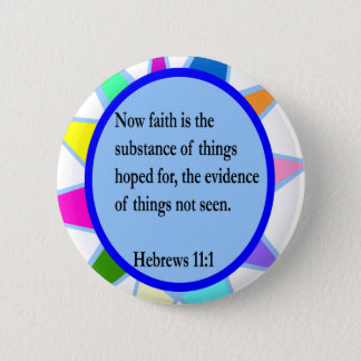 Hebrews 11:1 button