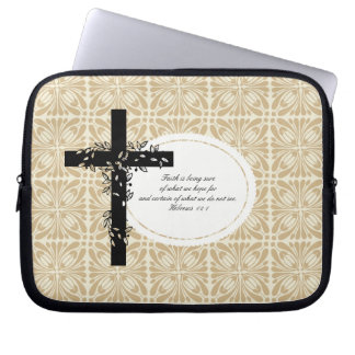 Hebrews 11:1 Laptop or Netbook Carrier Sleeve