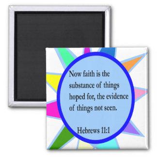 Hebrews 11:1 magnet