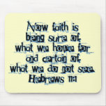 Hebrews 11:1 mouse pad