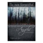 Hebrews 13:2 Angel Quote Card