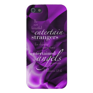 Hebrews 13:2 iPhone SE/5/5s cover