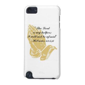 Hebrews 13:5,6 iPod Touch Skin iPod Touch 5G Case