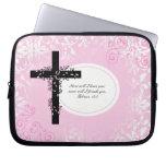 Hebrews 13:5 Laptop or Netbook Carrier Sleeve Laptop Sleeve