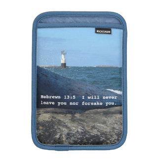 Hebrews 13:5 Never Leave You iPad mini sleeve