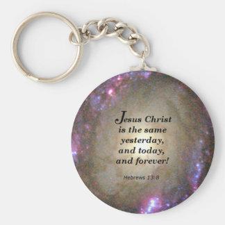 Hebrews 13:8 keychain