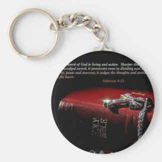 Hebrews 4:12 key chain