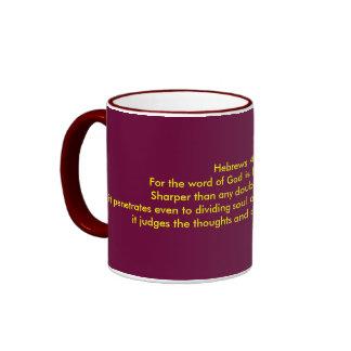 Hebrews 4:12 mug