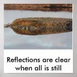 Hebridean reflection print