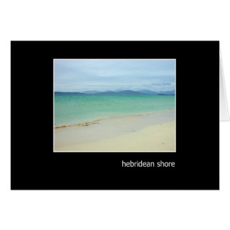 Hebridean Shore Card