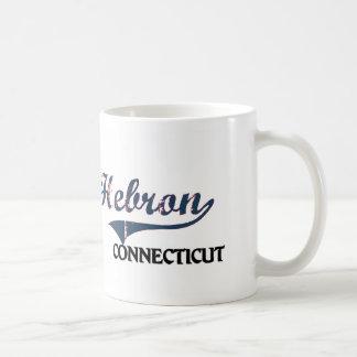 Hebron Connecticut City Classic Classic White Coffee Mug