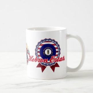 Hebron Estates, KY Classic White Coffee Mug