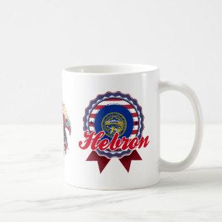 Hebron, NE Classic White Coffee Mug