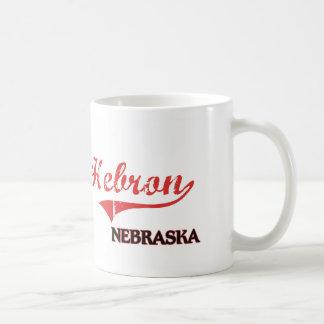 Hebron Nebraska City Classic Classic White Coffee Mug