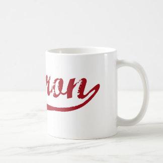 Hebron Ohio Classic Design Classic White Coffee Mug