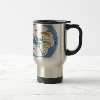 Hecataeus world map - Old world map Travel Mug