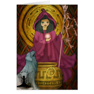 Hecate by Mythic Fairy Art Greeting Cards