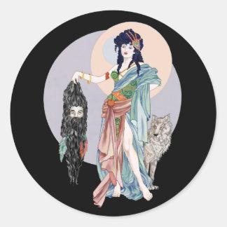 Hecate & Clytius Classic Round Sticker