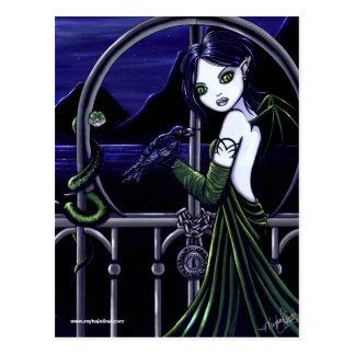 Hecate Dark Underworld Postcard