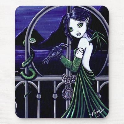 Hecate Goddes Underworld Fairy Mouspad Mouse Mat
