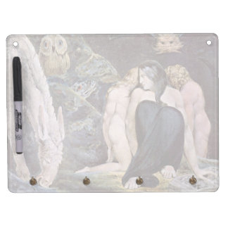 Hecate - Night of Enitharmon's Joy by Blake Dry Erase Board With Keychain Holder