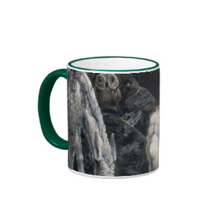 Hecate or the Three Fates Ringer Coffee Mug