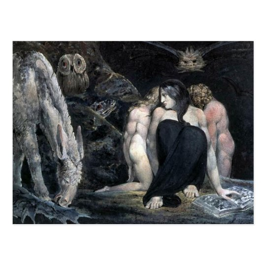 Hecate or the Three Fates Postcard