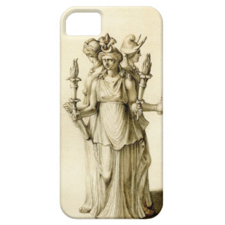 Hecate Triple-Corpóreo iPhone 5 Carcasas