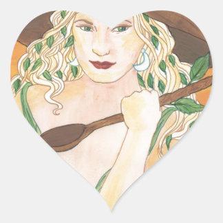 Hecate's Mum Heart Sticker