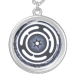 Hecate's Wheel (Blue) Necklace