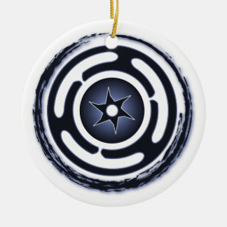 Hecate's Wheel (Blue) Ornaments