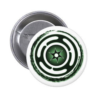 Hecate's Wheel (Green) Buttons
