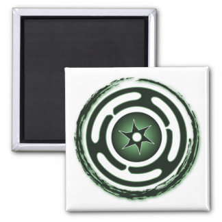 Hecate's Wheel (Green) Magnets