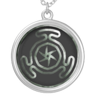 Hecate's Wheel Pagan Necklace