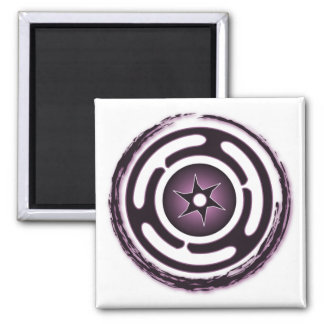 Hecate's Wheel (Purple) Magnets