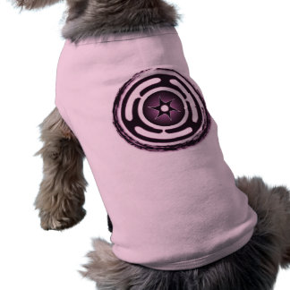 Hecate's Wheel (Purple) Pet Apparel T-Shirt