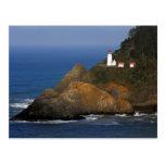 Heceta Head Lighthouse, Cape Creek, Oregon, USA Postcard