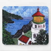Heceta Head Lighthouse Mouse Pad