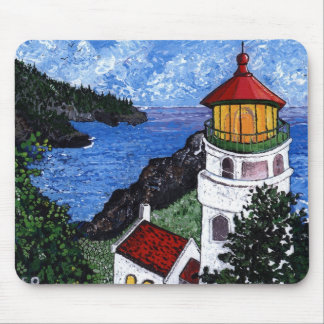 Heceta Head Lighthouse Mouse Pad