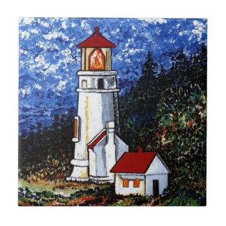 Heceta Head Lighthouse Tile