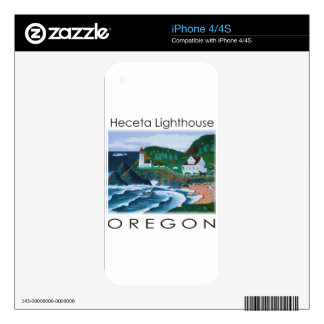 Heceta Lighthouse Decal For The iPhone 4S