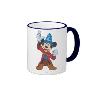 Hechicero Mickey Mouse Taza De Dos Colores