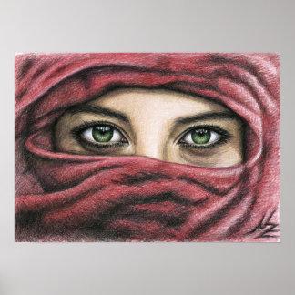 Hechizo de ojo - Magic Eyes Póster