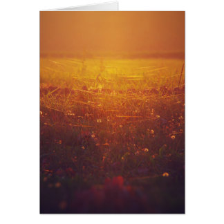 Hechizo de otoño tarjeta de felicitación