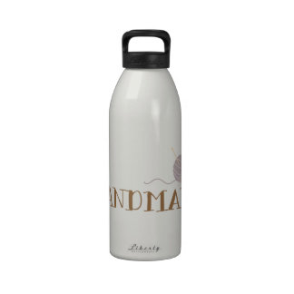 Hecho a mano botella de agua reutilizable