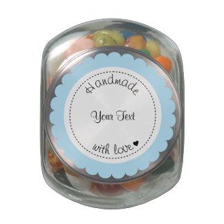 Hecho a mano de encargo con el tarro del caramelo  jarrones cristal