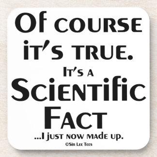 Hecho científico (ahora mismo compuse) posavaso