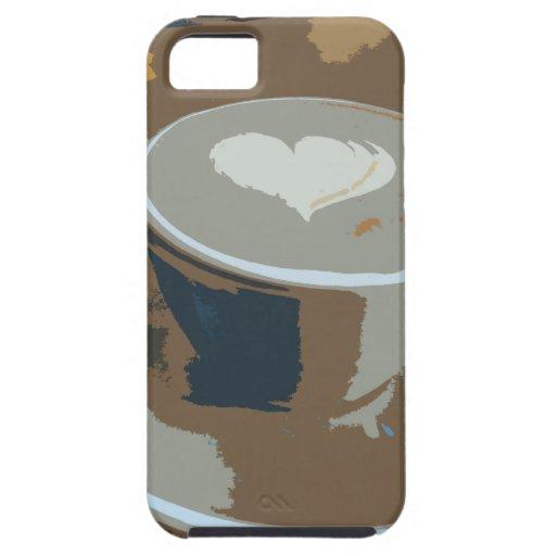 Hecho con amor iPhone 5 carcasas